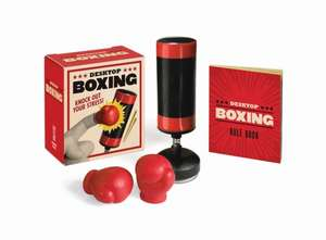 Desktop Boxing: Knock Out Your Stress! de Running Press