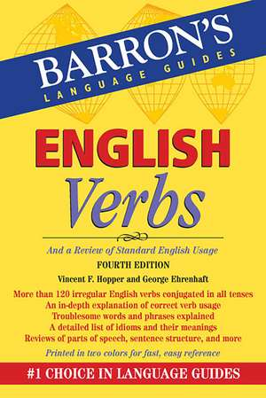 English Verbs:  And a Review of Standard English Usage de Vincent F. Hopper