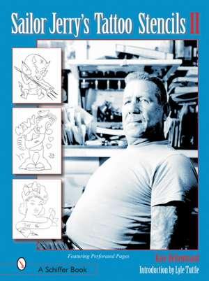 Sailor Jerry's Tattoo Stencils II imagine