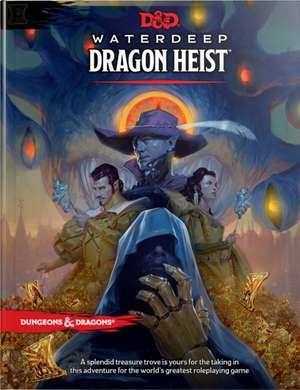D&d Waterdeep Dragon Heist Hc de  Wizards RPG Team