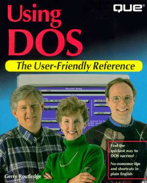 Using DOS de Gerry Routledge
