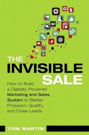 The Invisible Sale de Tom Martin