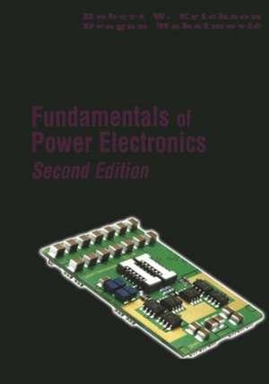 Fundamentals of Power Electronics de Robert W. Erickson