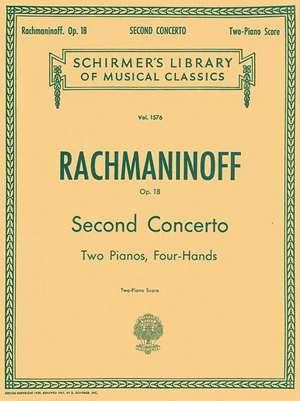 Concerto No. 2 in C Minor, Op. 18: National Federation of Music Clubs 2014-2016 Selection Piano Duet de Sergei Rachmaninoff
