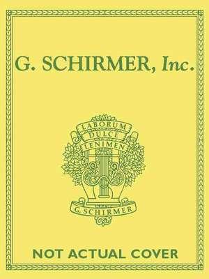 Six Sonatas: Schirmer Library of Classics Volume 1898 Score and Parts de Benedetto Marcello