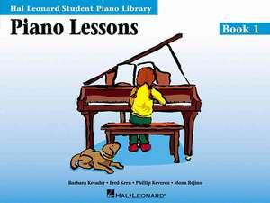 Piano Lessons - Book 1: Hal Leonard Student Piano Library de Phillip Keveren