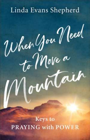 When You Need to Move a Mountain: Keys to Praying with Power de Linda Evans Shepherd