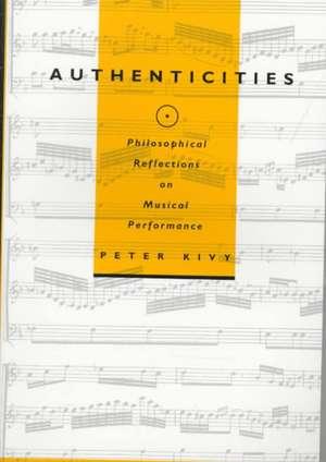 Authenticities de Peter Kivy