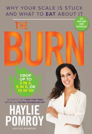 The Burn:  Why Your Scale Is Stuck and What to Eat about It de Haylie Pomroy