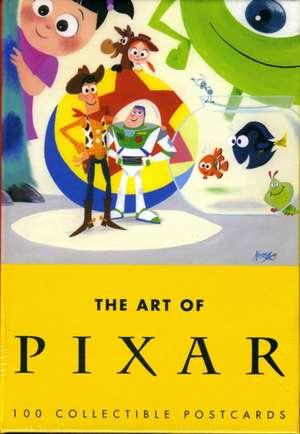 The Art of Pixar:  100 Collectible Postcards de Chronicle Books