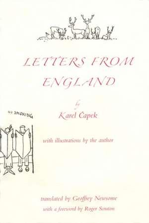 Letters from England de Karel Capek
