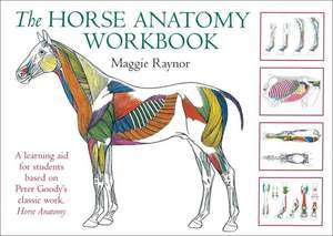 The Horse Anatomy Workbook: A Learning Aid for Students Based on Peter Goody's Classic Work, Horse Anatomy de Maggie Raynor