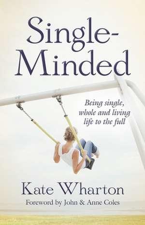 Single-Minded de Kate Wharton