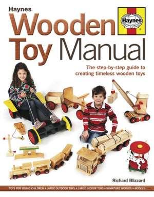 Wooden Toy Manual de Richard Blizzard
