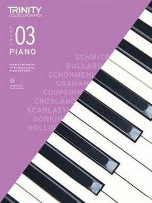 Piano Exam Pieces 2018-2020 Grade 3 de Trinity College London