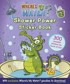 Where's My Water: Shower Power Sticker Book