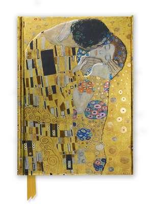 Gustav Klimt: The Kiss (Foiled Journal) de Flame Tree Studio