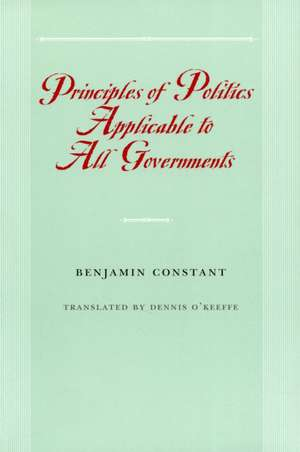 Principles of Politics Applicable to All Governments imagine