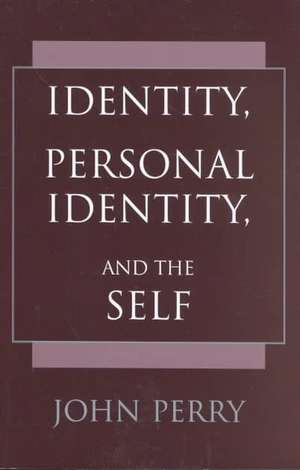 Identity, Personal Identity and the Self imagine