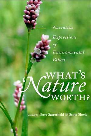 What's Nature Worth de Terre Satterfield