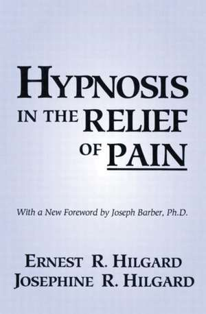 Hypnosis in the Relief of Pain imagine