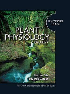 Taiz  L: Plant Physiology