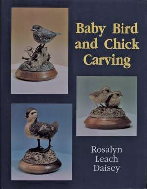 Baby Bird and Chick Carving imagine