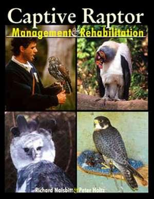 Captive Raptor: Management & Rehabilitation de Richard Naisbitt