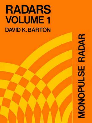 Monopulse Radar de David K. Barton