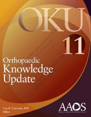 Orthopaedic Knowledge Update 11