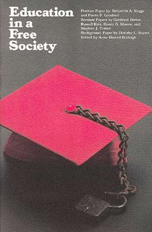 Education in a Free Society imagine