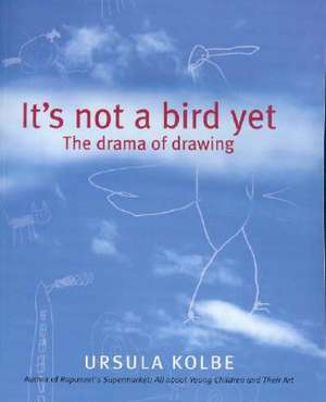 It's Not a Bird Yet:  The Drama of Drawing de Ursula Kolbe