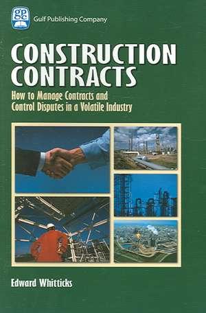 Construction Contracts de Edward Whitticks