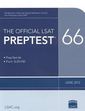 The Official Lsat Preptest 66