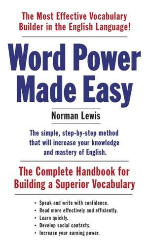 Word Power Made Easy imagine