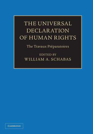 The Universal Declaration of Human Rights 3 Volume Hardback Set