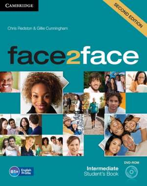 face2face Intermediate Student's Book with DVD-ROM imagine