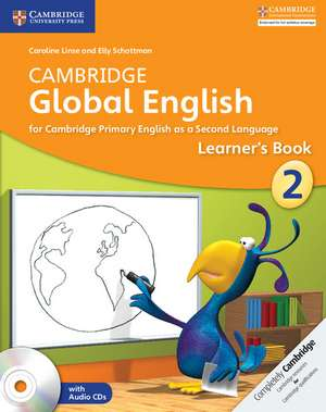 Cambridge Global English Stage 2 Learner's Book with Audio CDs (2) de Caroline Linse