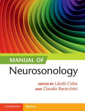 Manual of Neurosonology de László Csiba