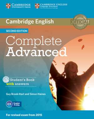 Complete Advanced Student's Book with Answers with CD-ROM imagine