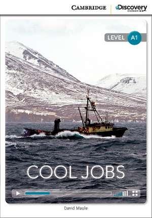 Cool Jobs Beginning Book with Online Access de David Maule