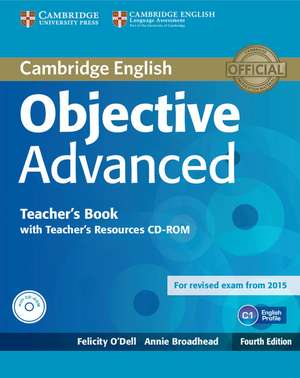 Objective Advanced Teacher's Book with Teacher's Resources CD-ROM imagine