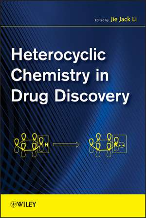 Heterocyclic Chemistry in Drug Discovery