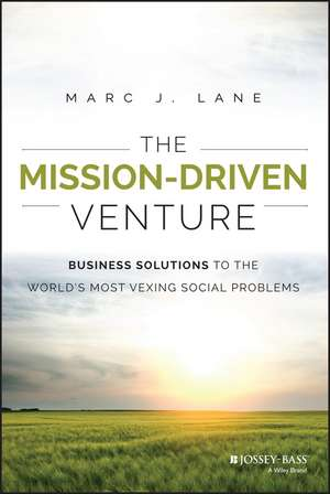 The Mission-Driven Venture