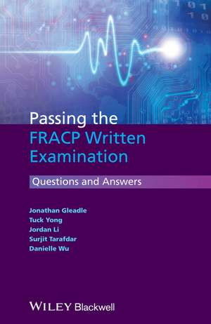 Passing the FRACP Written Examination