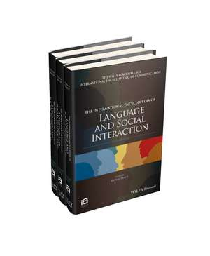 The International Encyclopedia of Language and Social Interaction imagine