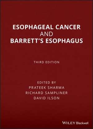 Esophageal Cancer and Barrett′s Esophagus