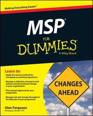 MSP for Dummies de Alan Ferguson