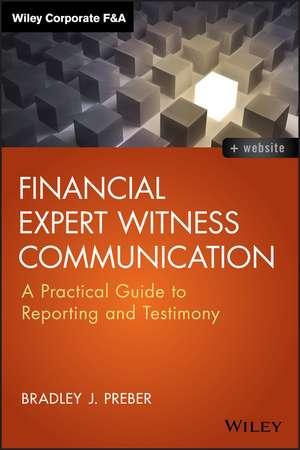 Financial Expert Witness Communication imagine
