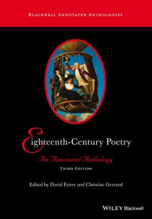 Eighteenth–Century Poetry